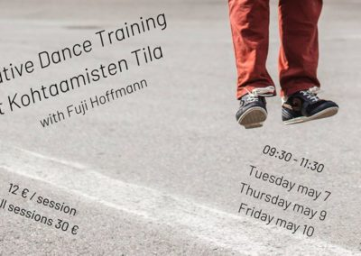 Creative Dance Training 7.-10.5. at 9:30-11:30