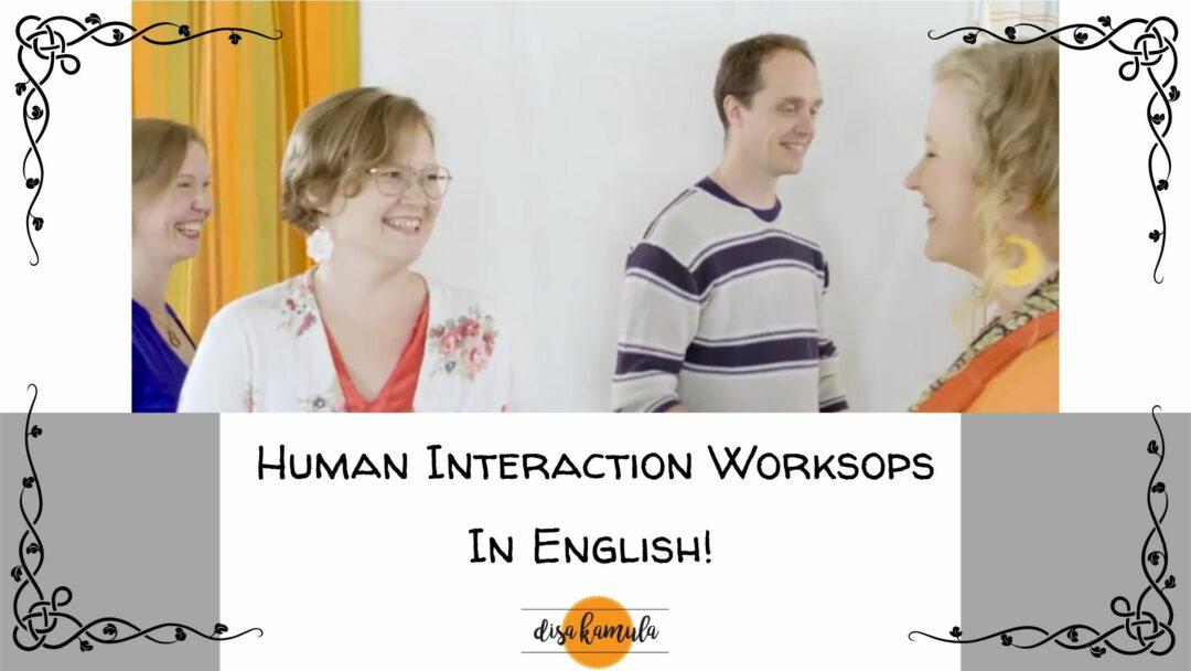 Human Interaction Workshops 2nd to 4th of August 2021!