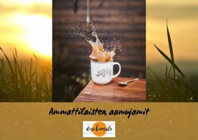 AAMUJAMIT / MORNING JAMMING 3. – 4.8.2021