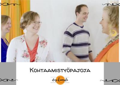 KOHTAAMISTYÖPAJAT TEATTERIKESÄSSÄ 2. – 4.8.2021